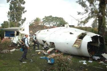Crash de l'appareil Foker 50 de CAA