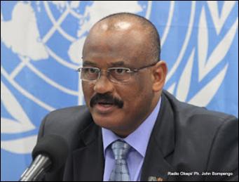 Abdallah Waffy représentant spécial du S.G de l' ONU en RDC